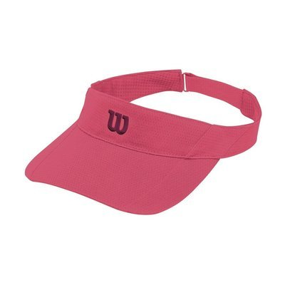 Wilson Rush Knit Ultralight Visor - Pink