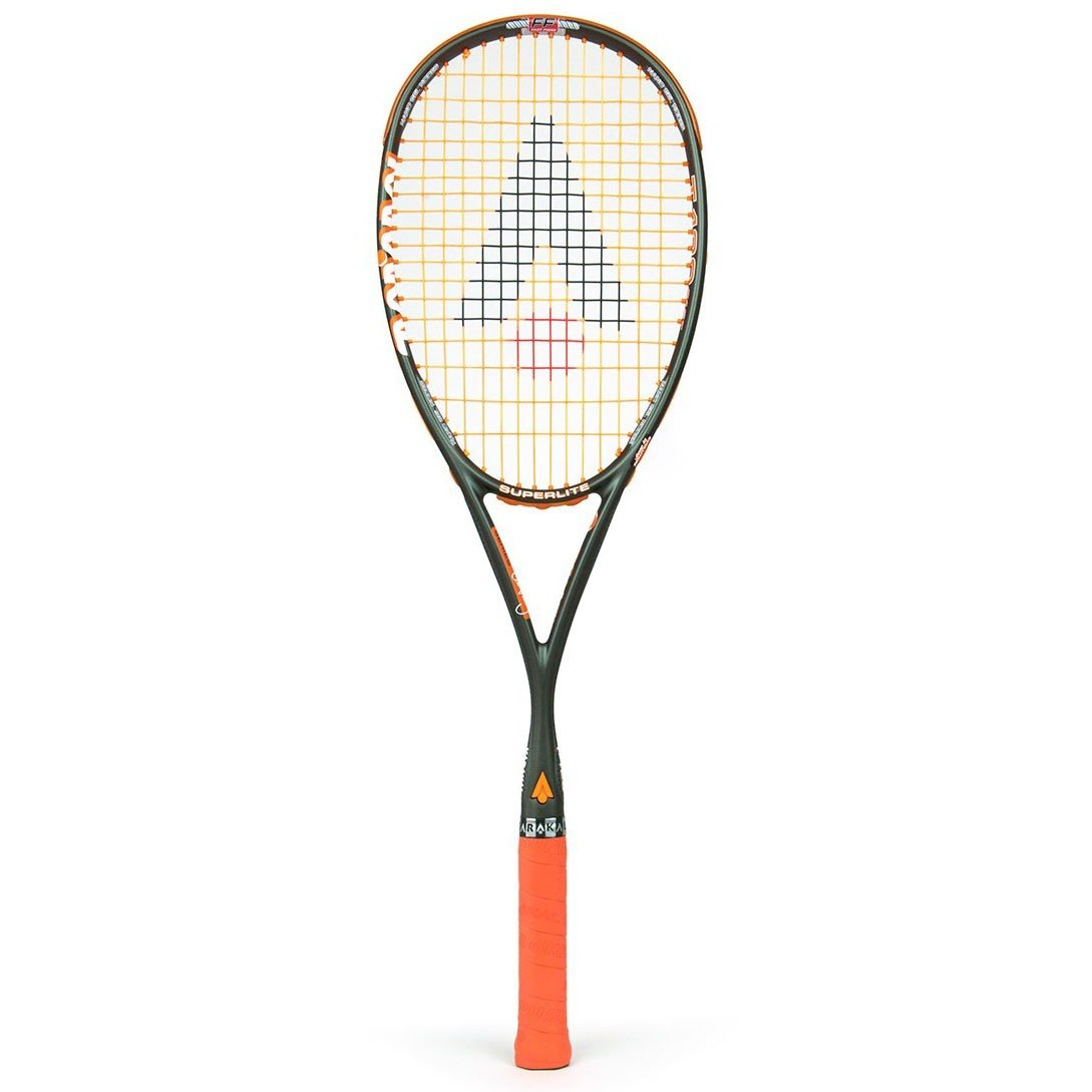 Karakal T-120ff Squash Racket - Grey/Orange