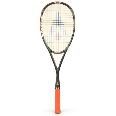 Karakal T-120ff Squash Racket - Grey/Orange