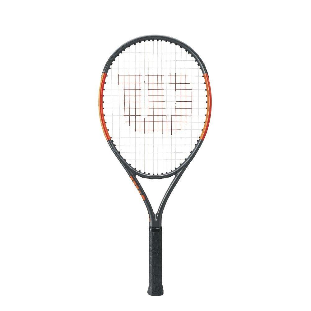 Wilson Burn 25S Junior Tennis Racket - Sliver/Orange