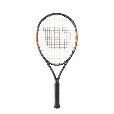 Wilson Burn 25S Junior Tennis Racket - Sliver/Orange