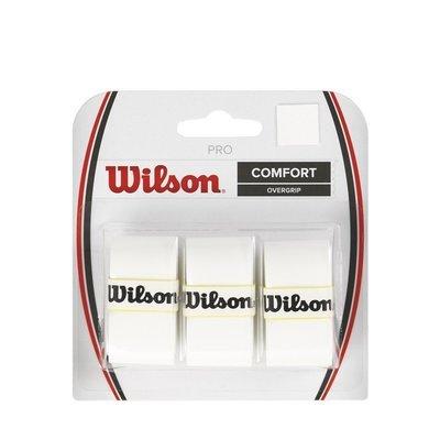 Wilson Pro Comfort Overgrip White - 3 Pack