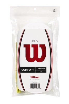 Wilson Pro Comfort Overgrip - 30 Pack - White