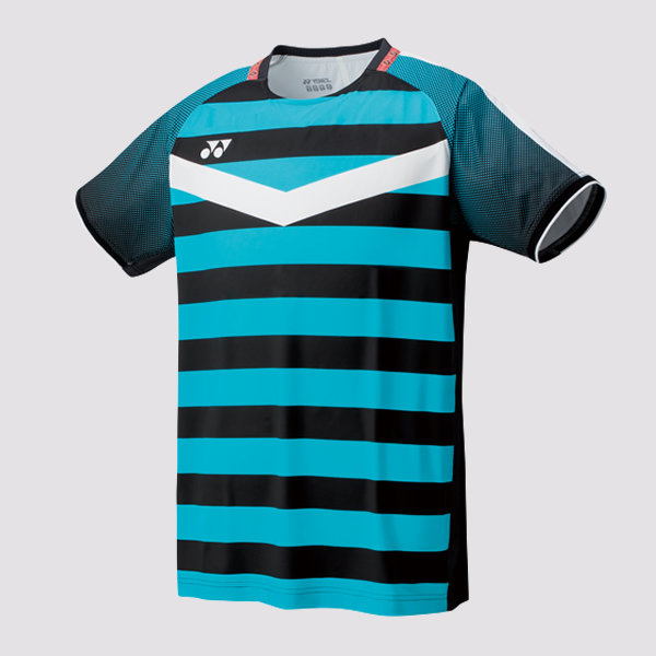 Yonex Men's Crew Neck Shirt 10274EX - Black/Blue