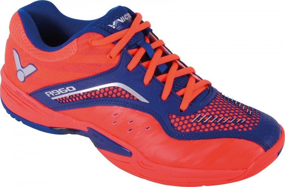Victor A960 Men's Badminton Shoes - Orange