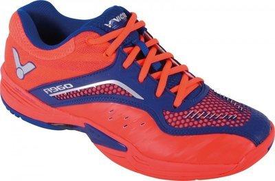 Victor A960 Court Shoes - Orange/Blue