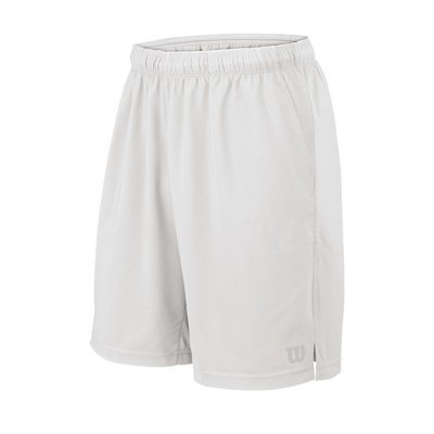 Wilson Men's Rush 9 Woven Shorts - White