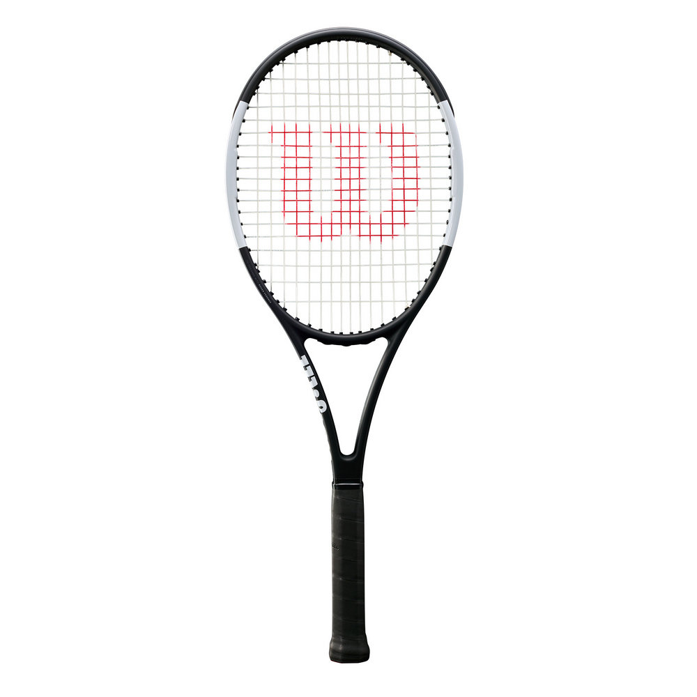 Wilson Pro Staff 97L Tennis Racket - Black/White