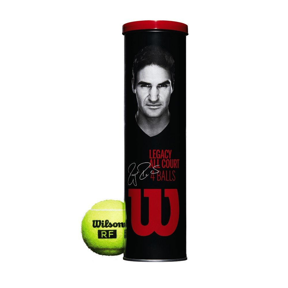 Wilson RF Legacy Tennis Balls - 4 Ball Can