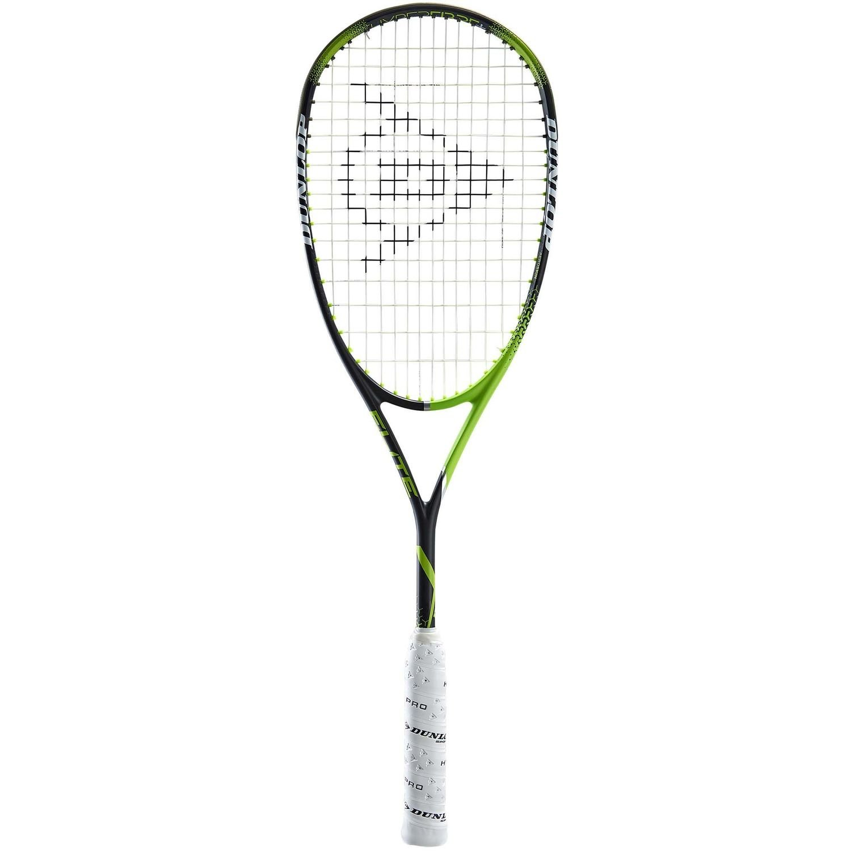 Dunlop Precision Elite Squash Racket - Green/Black