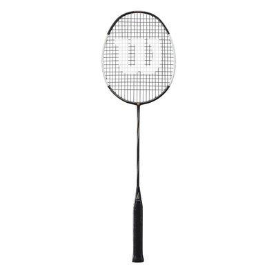 Wilson Blaze SX8000J Spider CV Badminton Racket - Black/White