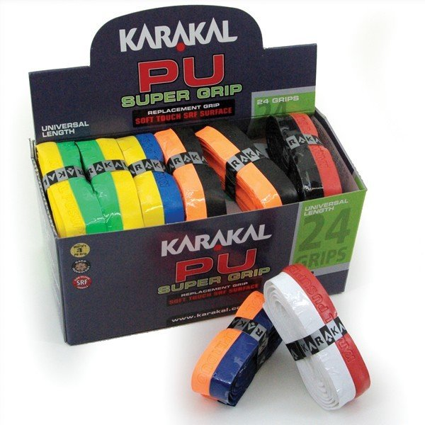 Karakal PU Grips Box 24 - Duo colour