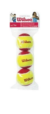 Wilson Starter Red Mini Tennis Balls 3 Pack