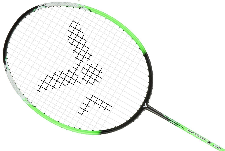 Victor Thruster K330 Badminton Racket - Black/Green