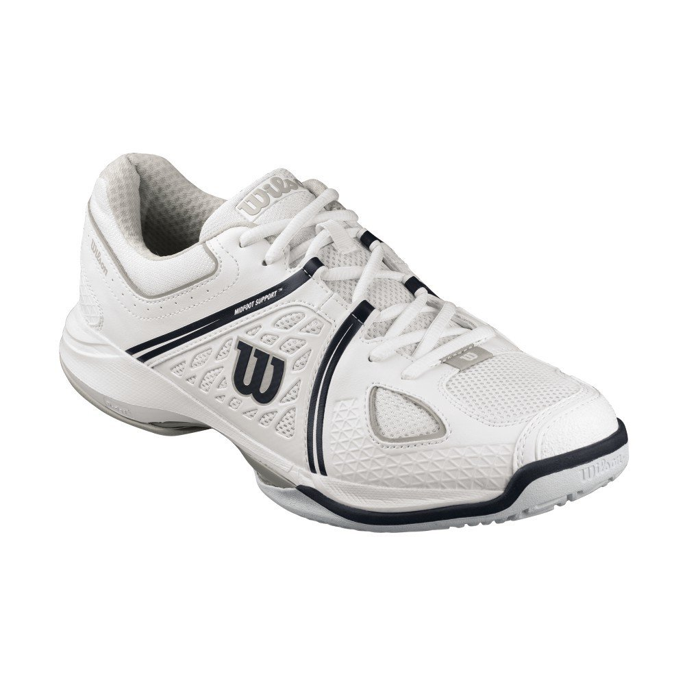 Wilson NVision Envy Court Shoes - White/Black