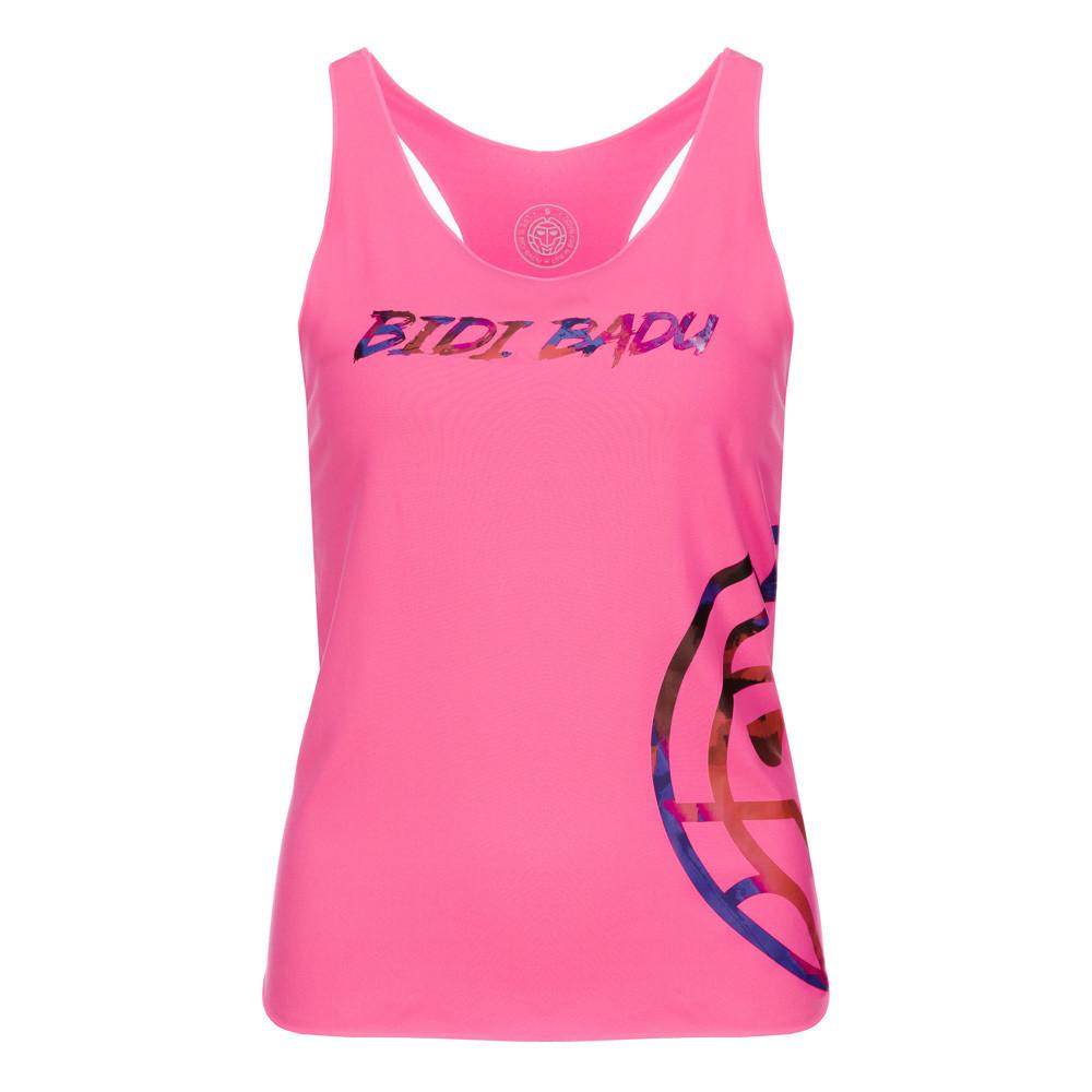 Bidi Badu Ann Basic Logo Ladies Tank - Pink