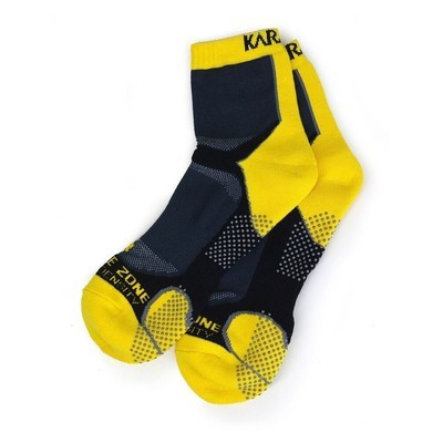 Karakal X4 Ankle Sock - Black/Yellow