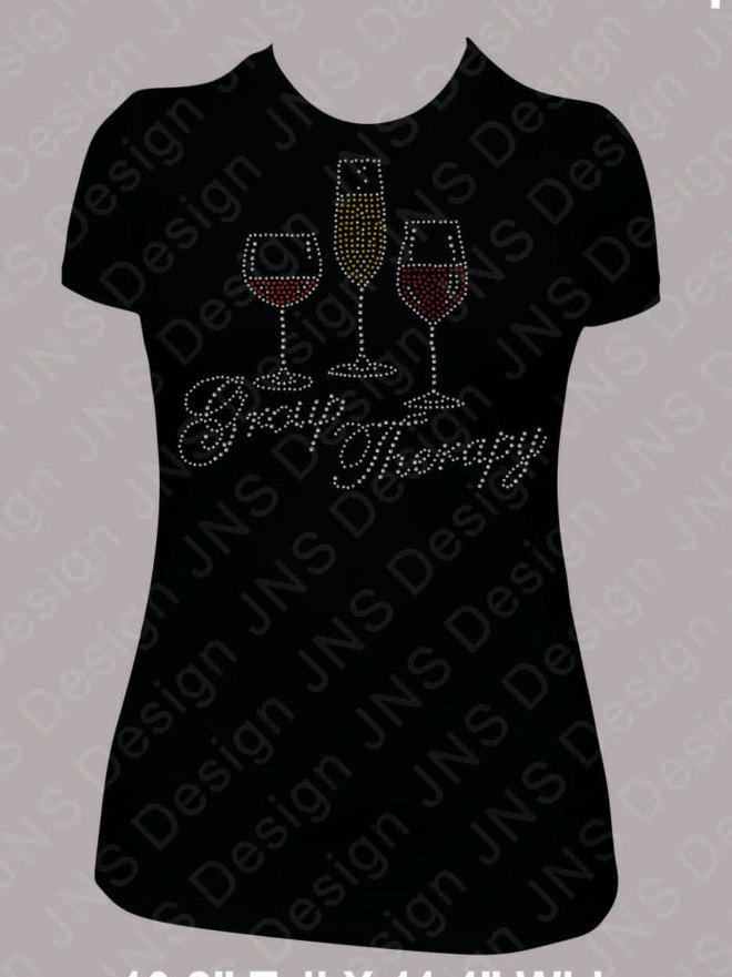 Wine T-Shirt - Group Therapy