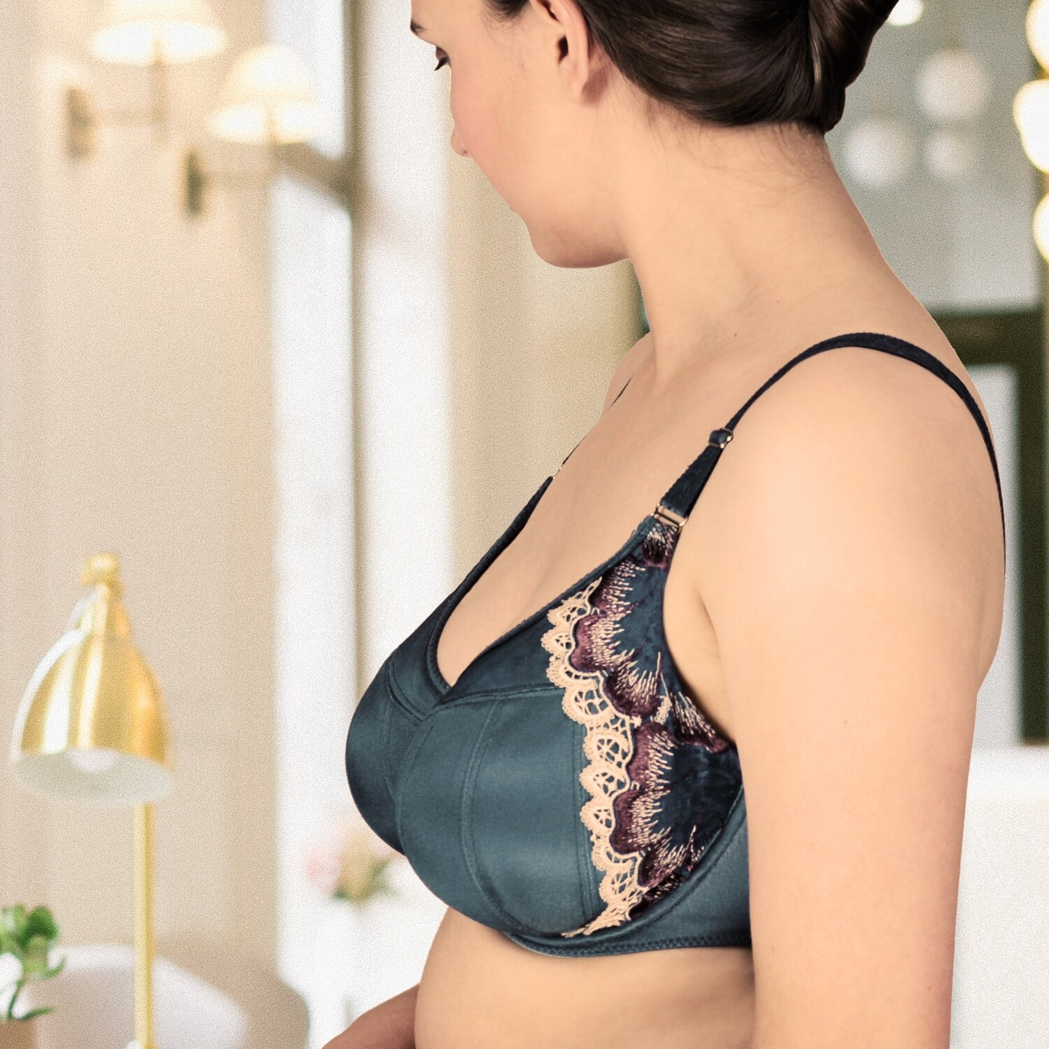 Dahlia Underwire Full Cup Lined Bra in 3 Colours