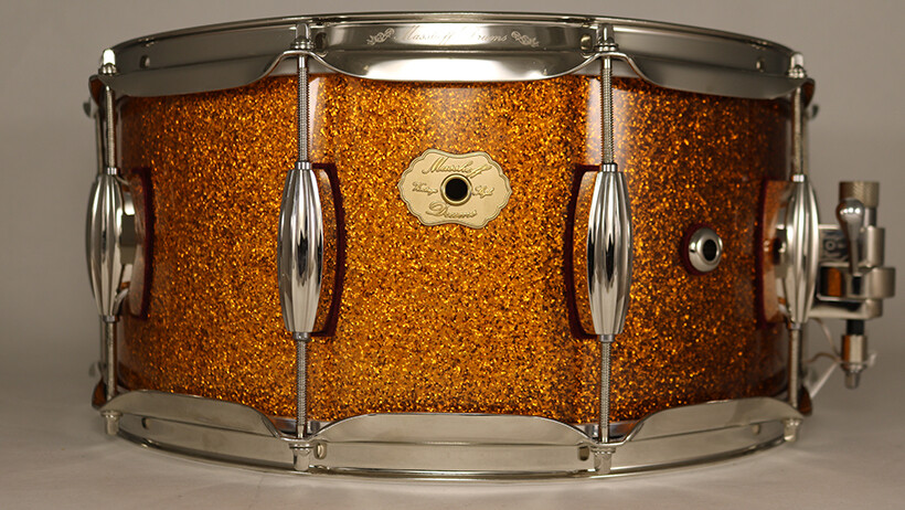 """AVALON"" / Masshoff Drums GOLD SPARKLE"