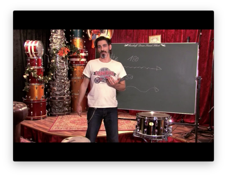 Z___Single Video Lesson: Drumsound Theorie [DOWNLOAD / DEUTSCH]