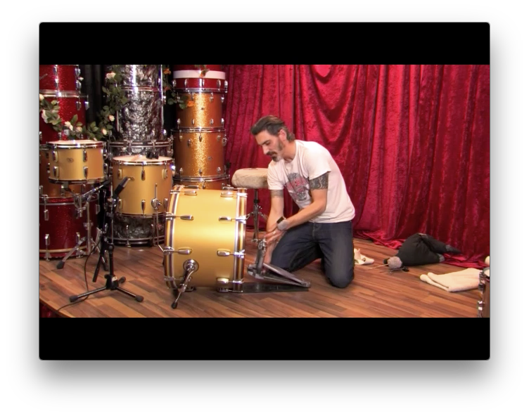 Single Video Lesson: Bass Drum Tuning [DOWNLOAD / DEUTSCH]