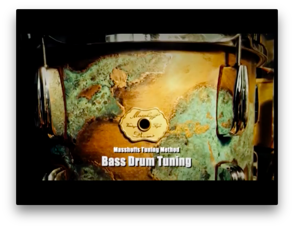 Z___Single Video Lesson: Bass Drum Tuning (DOWNLOAD / ENGLISH)