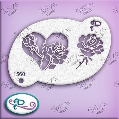 1560 Valentine Rose