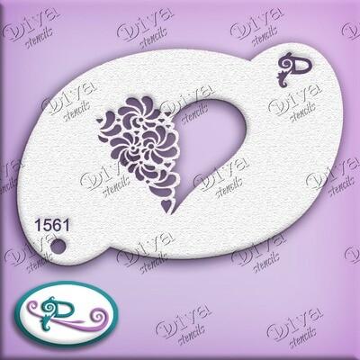 1561 Valentine Heart Swirl 2