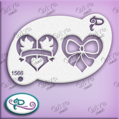 1566 Two Hearts