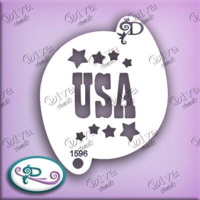 USA with Stars
