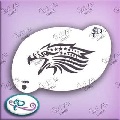 Large Eagle Head & Stars