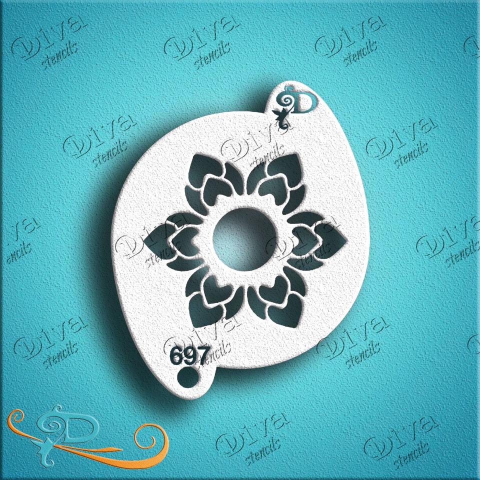 Oriental flower#6