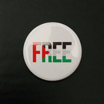Free Palestine Badge