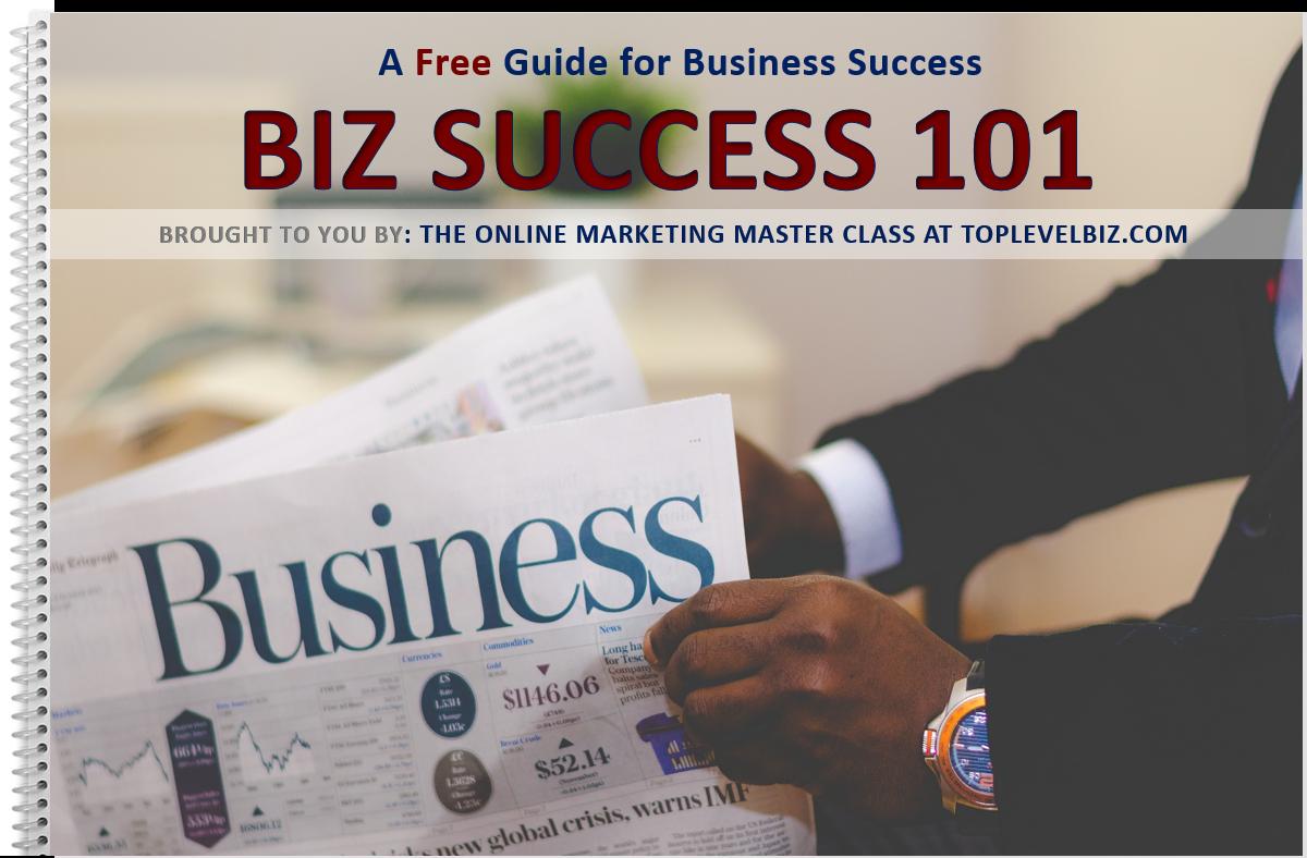FREE EBOOK - BIZ SUCCESS 101