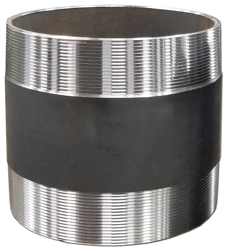 Black Steel SCH #40 Connection NPT Pipe Nipple