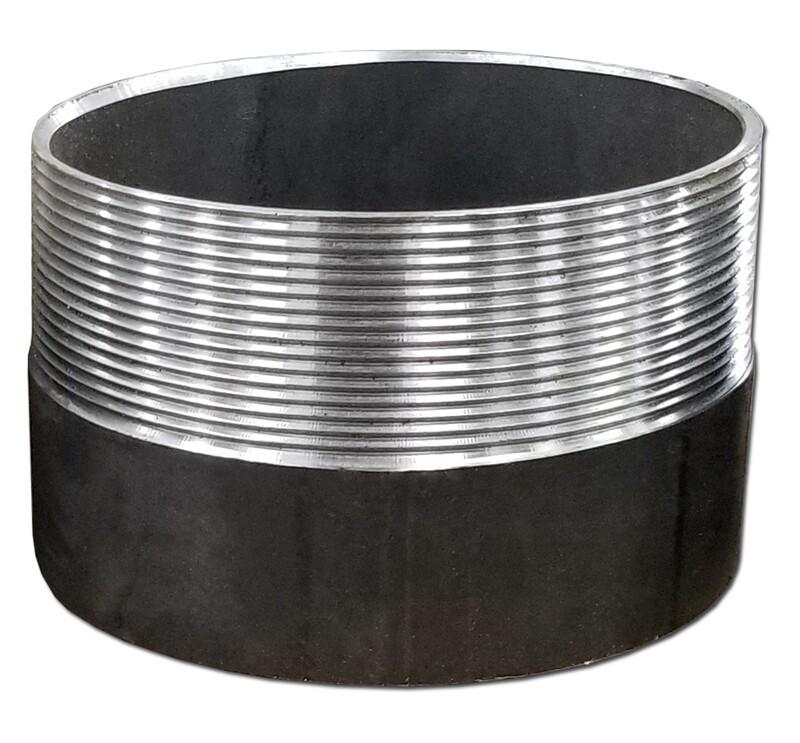 Black Steel Weld-On MNPT Nipple