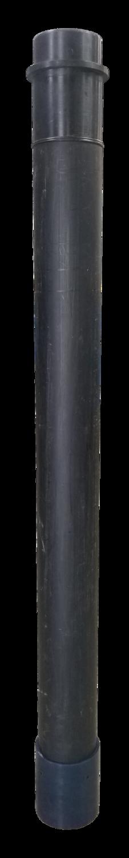 "HDPE 6"" Male Ringlock Dig Tube w/Cuff - 78"""
