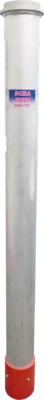 Dura Tube™ BandLock® Style  Aluminum Dig Tube w/ Hydro HDPE Cuff