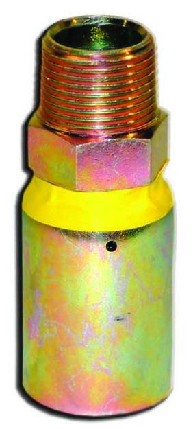 """Piranha® Male Hose End - [1"""" Male NPT 2500 - 3000 PSI]"""