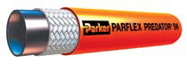 "Parker® Mainline Thermoplastic Sewer Cleaning Hose - [Orange - 1"" x 500' - 2500 PSI]"