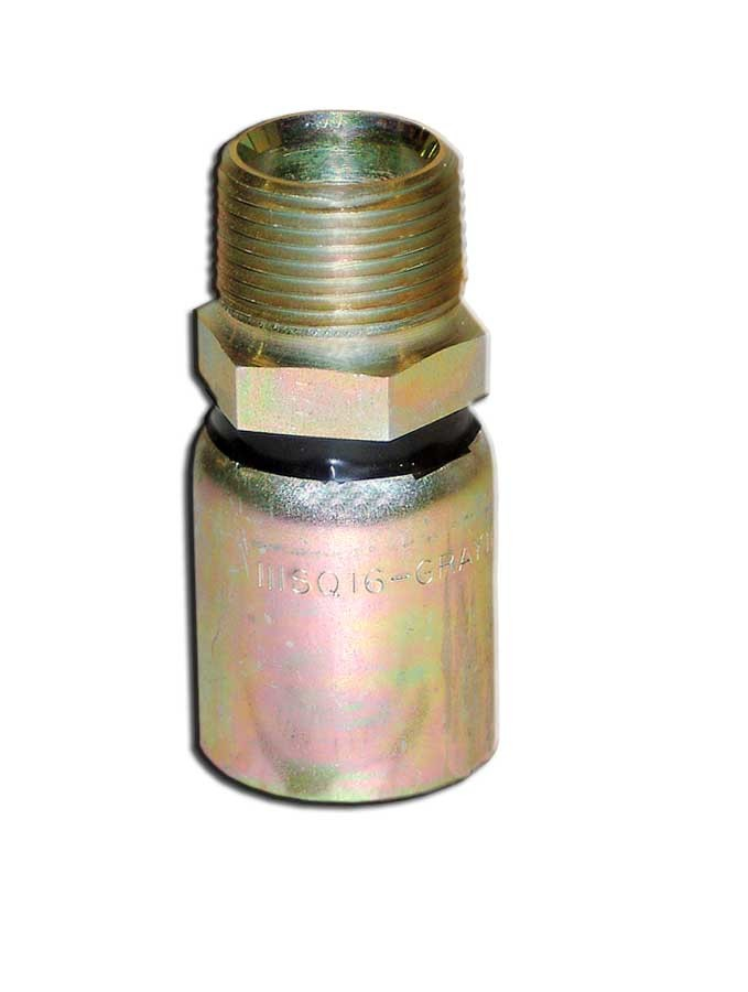 "Parker® Male Hose End - [1"" NPT 2500-3000 PSI]"