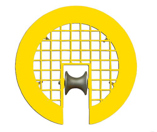 Safety Manhole Roller Cover