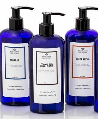 Henri et Victoria Beard & Body Wash - 8oz / 228g