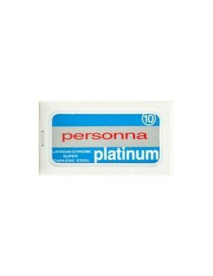 Personna Platinum Razor Blades - Pack of 10