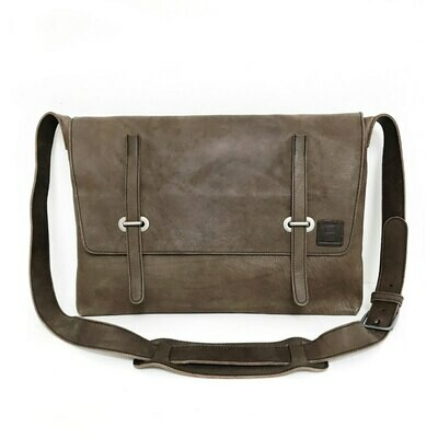 BRAVE Leather Saxby Messenger Bag (3 Colour Choices)