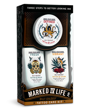 Marked IV Life 3 piece Tattoo Care Kit