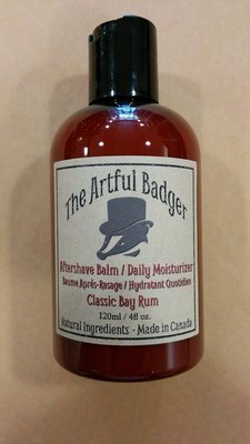 Artful Badger Aftershave Balm / Daily Moisturizer - 120ml / 4 fl oz