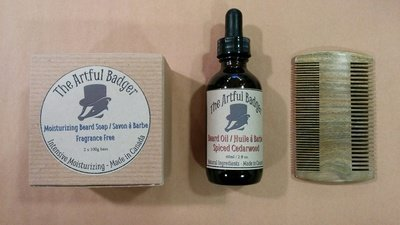 Artful Badger Beard Bundle