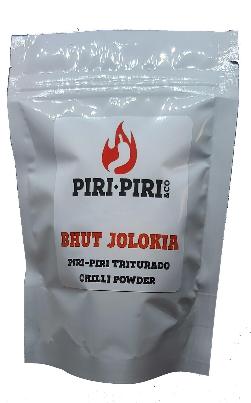 Piri-Piri Bhut Jolokia Moído - 40 grs (saqueta)